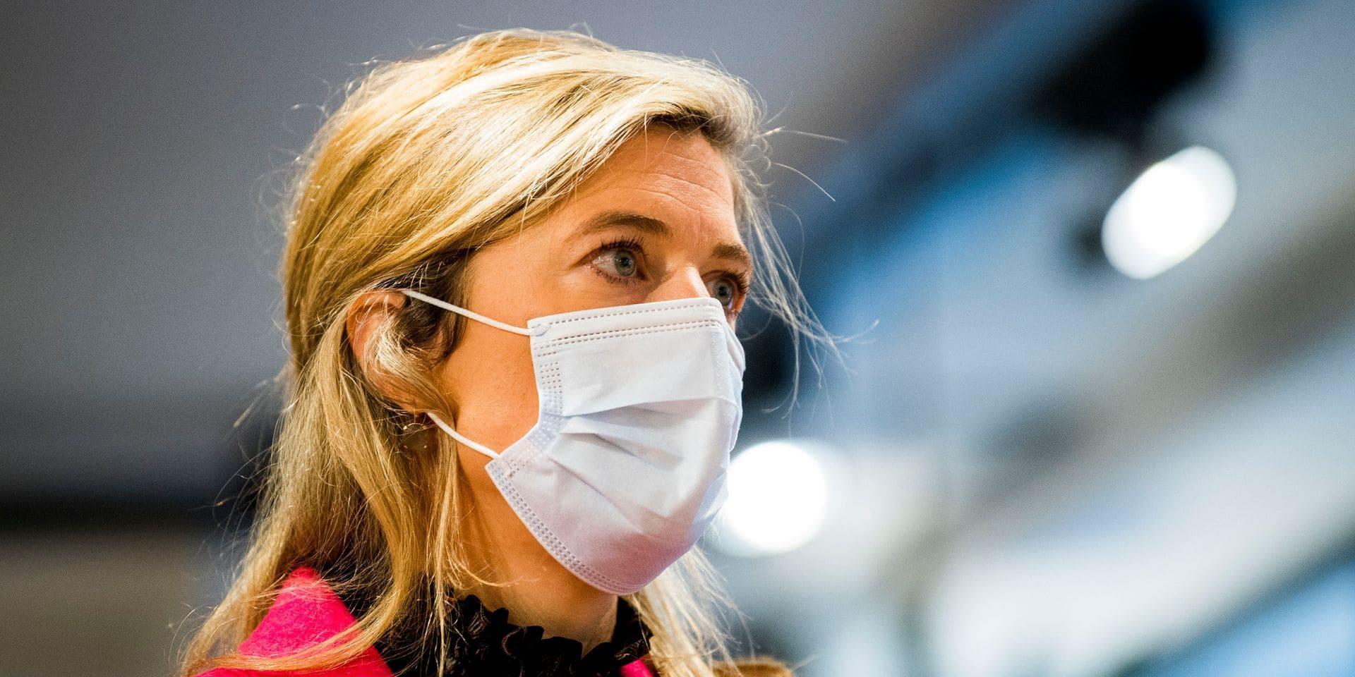 """""""Il a été décidé d'investir des moyens supplémentaires"""", assure Annelies Verlinden après la vaste opération antidrogue"""