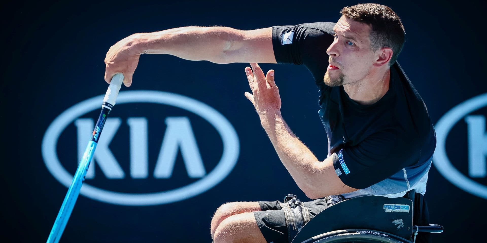 Roland-Garros: Joachim Gérard en demi-finales du tournoi