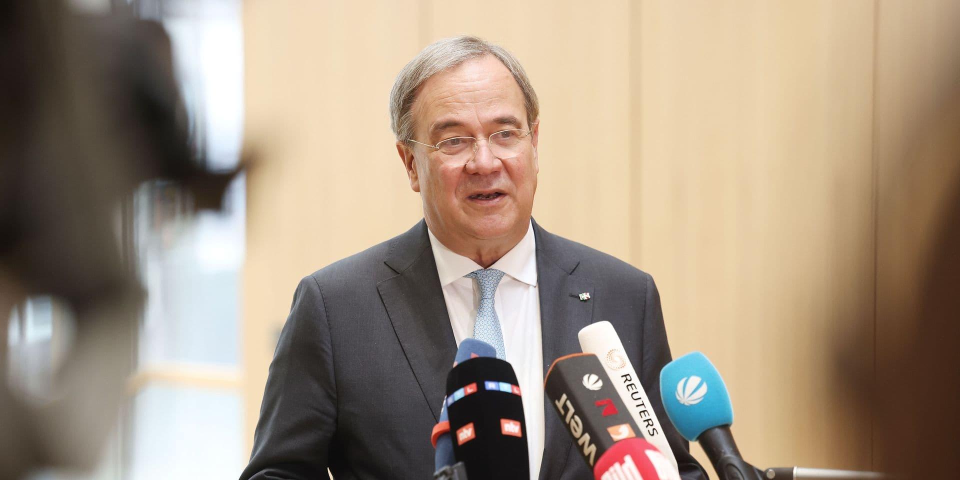 Allemagne: après son revers aux élections, Armin Laschet se dit prêt à quitter son poste de président de la CDU