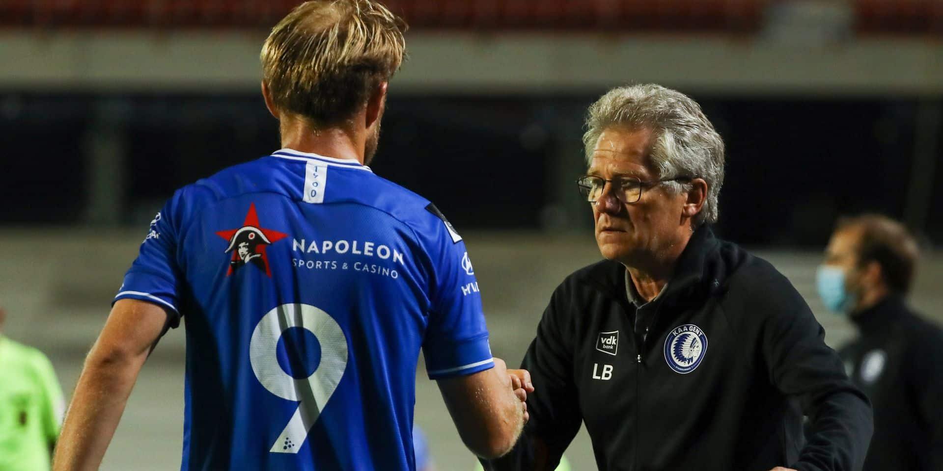 """La tension reste à son comble à la Gantoise. Yaremchuk critique Boloni, son entraîneur lui répond :""""S'il n'est pas content, il peut choisir un autre club"""""""