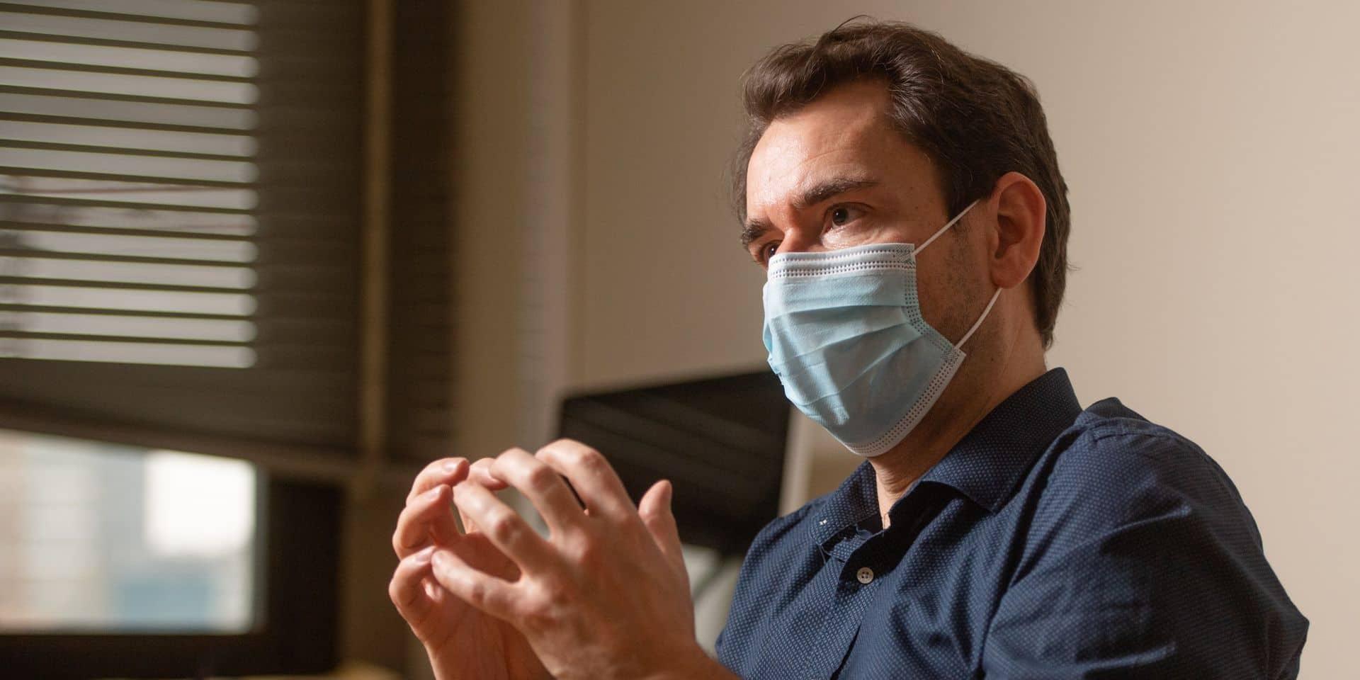 """Marius Gilbert parle d'un """"basculement"""" pour le mois de mai dans la pandémie de coronavirus: """"Cela n'aura plus rien à voir avec ce qu'on a connu"""""""