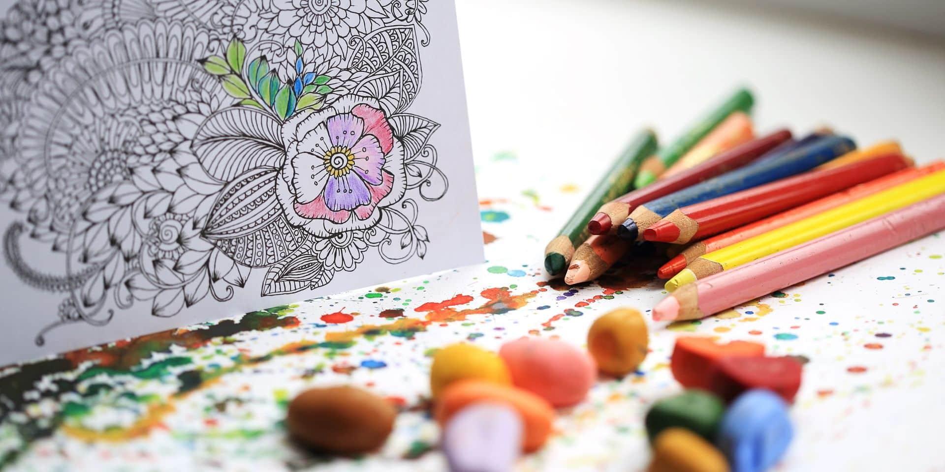 L'art-thérapie, pour soulager les soignants