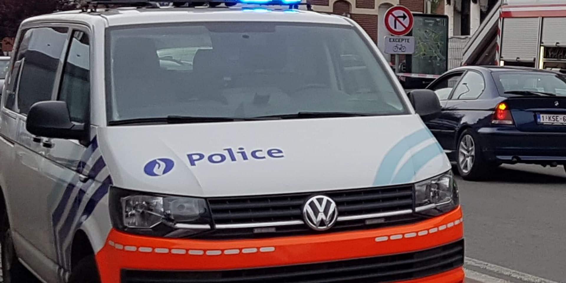 Mouscron: le conducteur recherché a été interpellé
