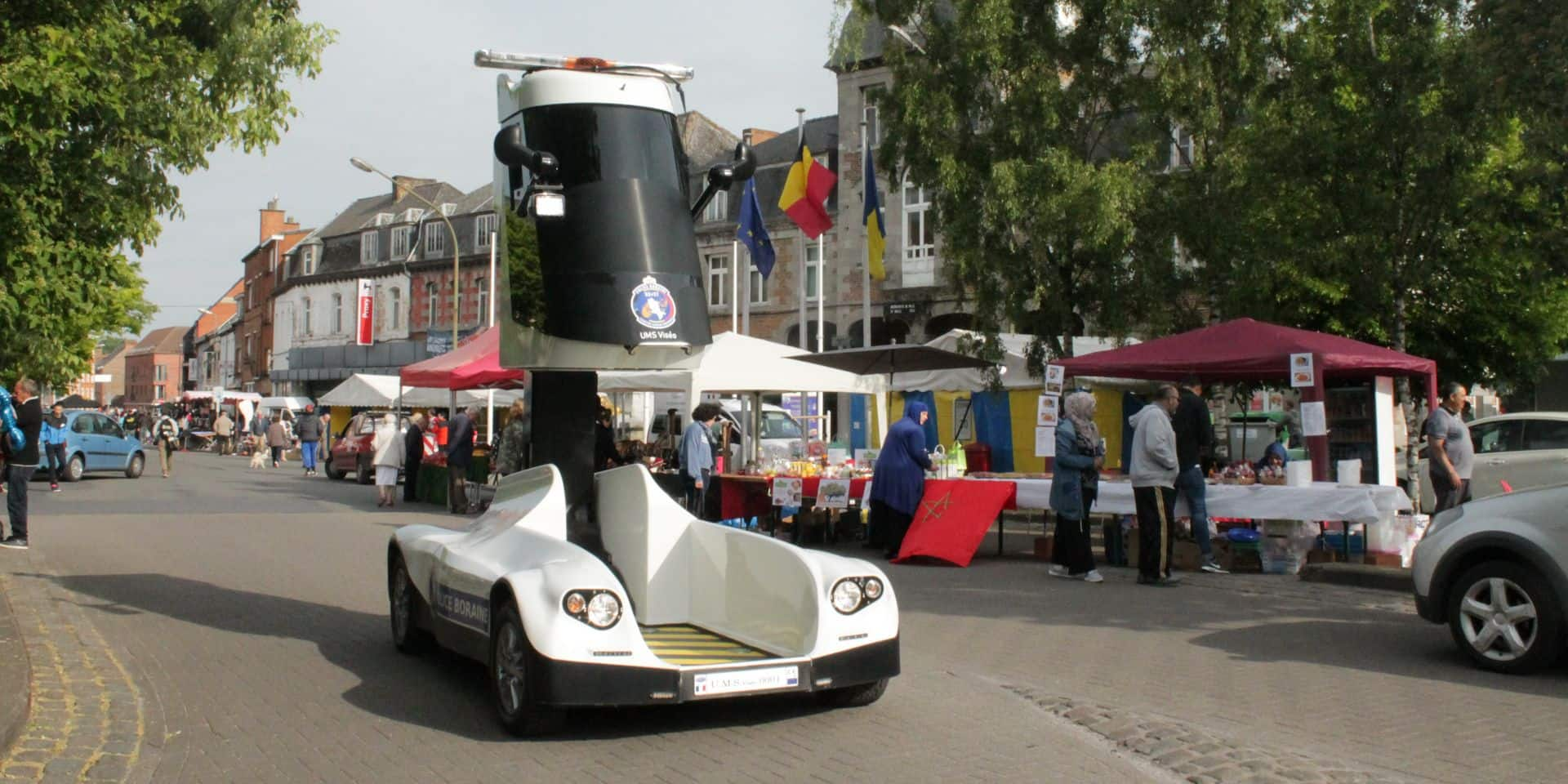 Saint-Ghislain: La police boraine teste un engin futuriste !