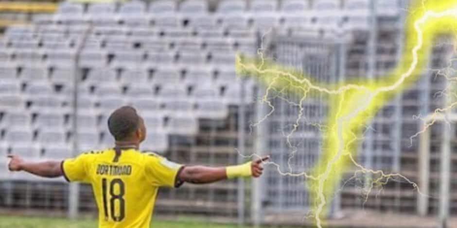 Moukoko, enfant prodige du Borussia Dortmund aux portes de la Bundesliga