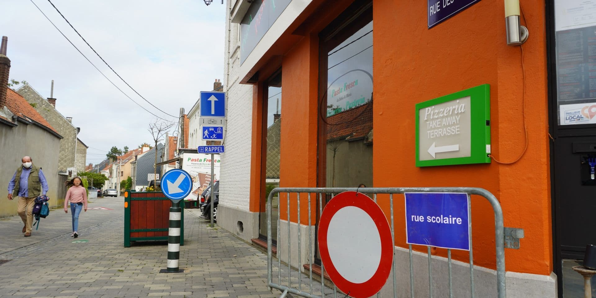 La rue des Écoles à Rixensart sera définitivement une rue scolaire