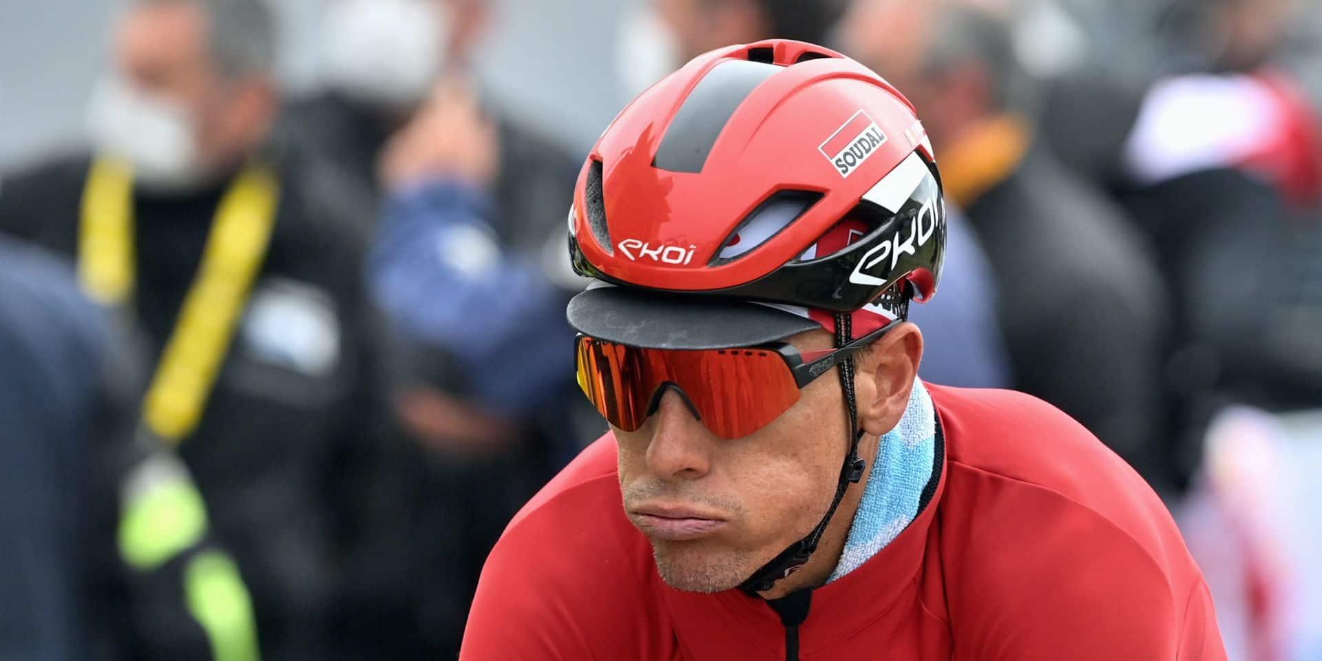 """Philippe Gilbert déçu de sa performance en France: """"J'ai vécu un Tour compliqué"""""""
