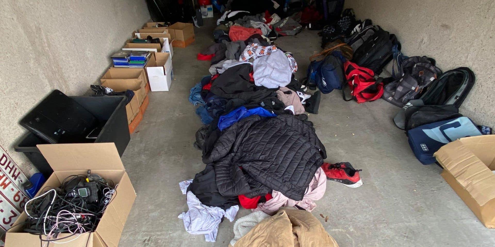 Objets trouvés par la police dans un squat de Grâce-Hollogne : c'est à vous ?