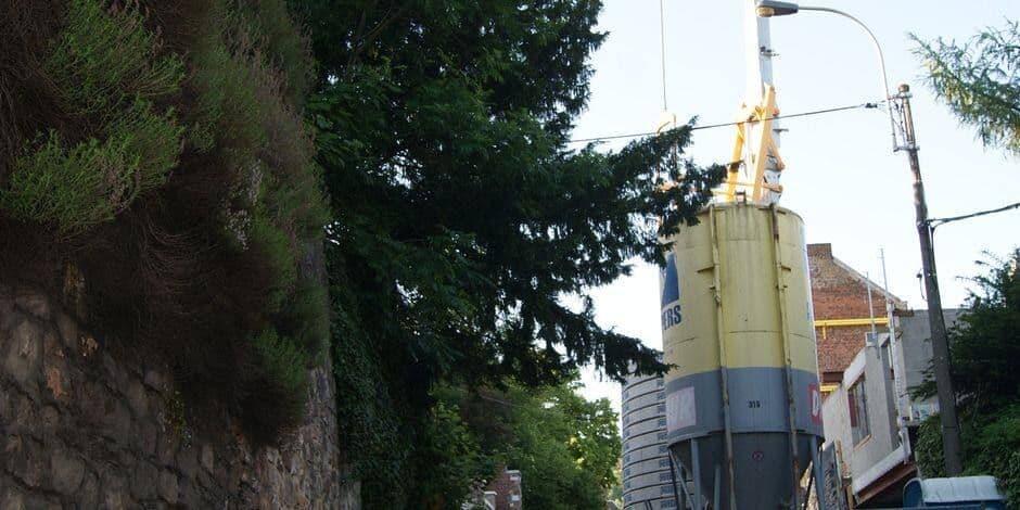 Huy: fermeture de la rue des Crépalles