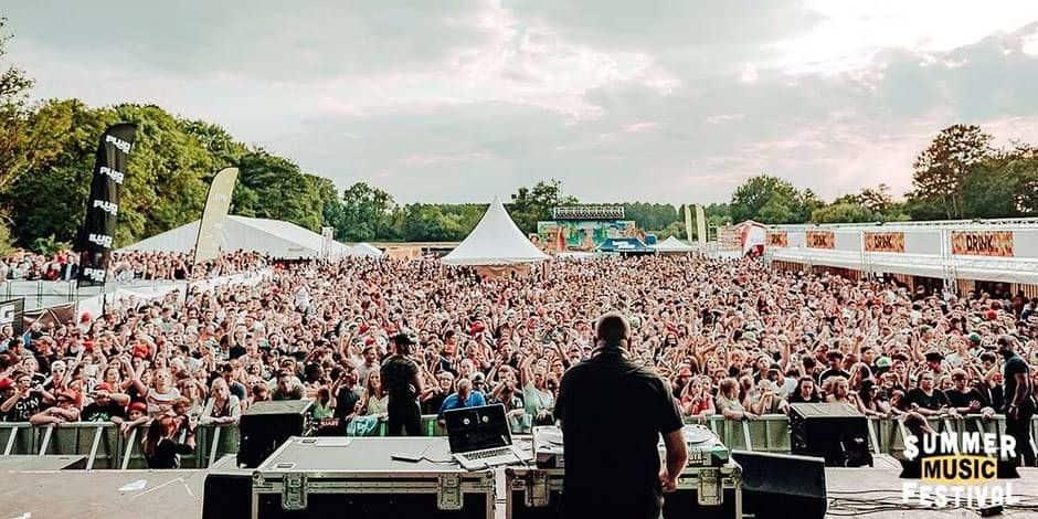 Le Summer Music Festival s'associe au Rockerill pour une programmation 100% électro