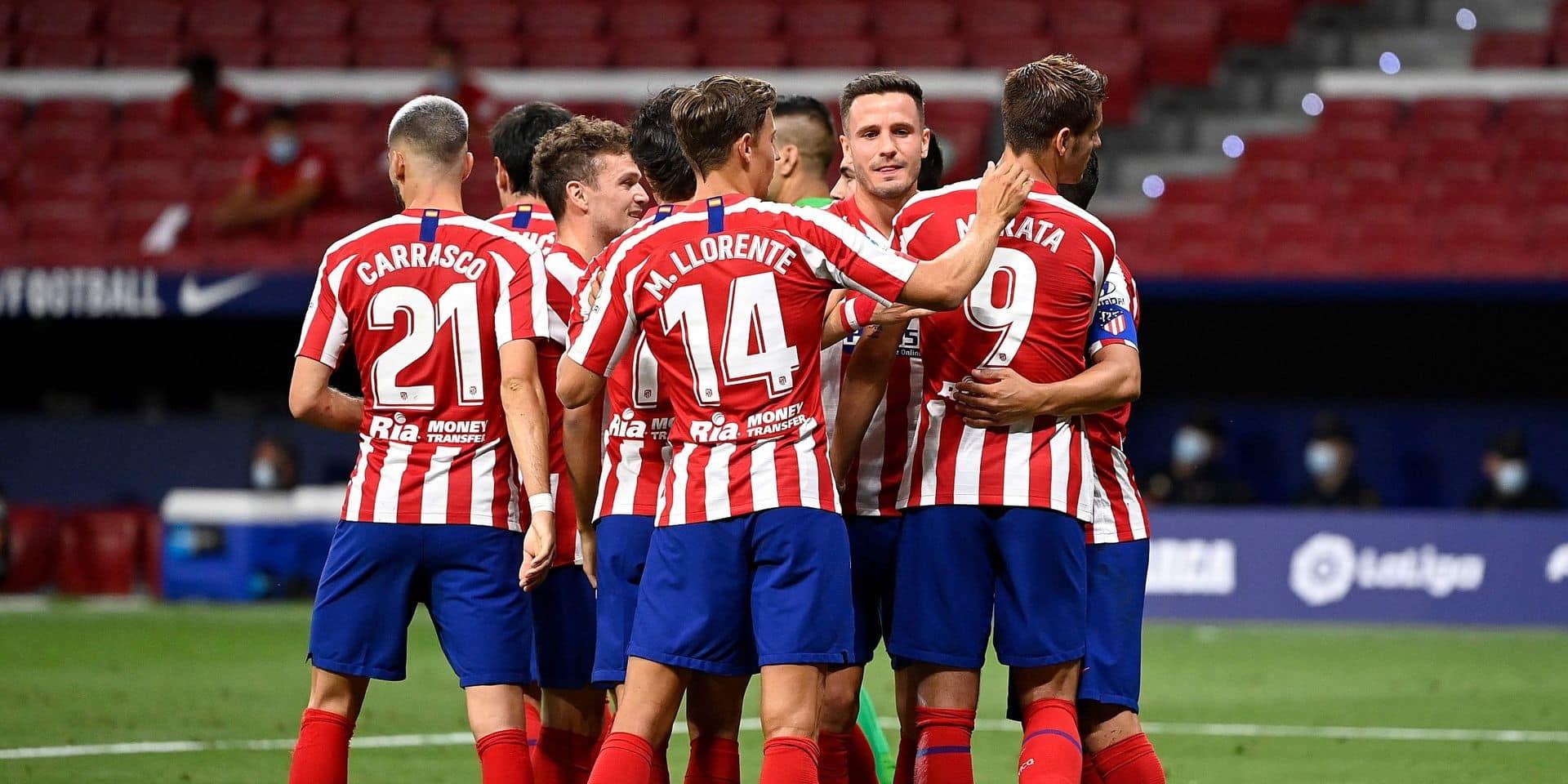 En dehors des deux cas positifs, tous les autres tests menés à l'Atlético Madrid négatifs au coronavirus