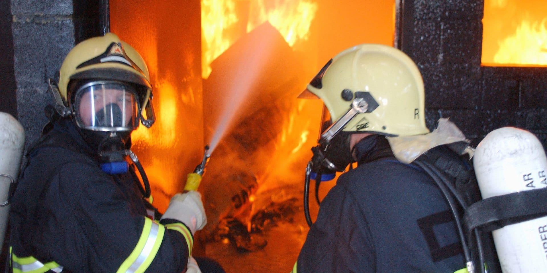 Une personne brûlée dans un incendie à Soumagne