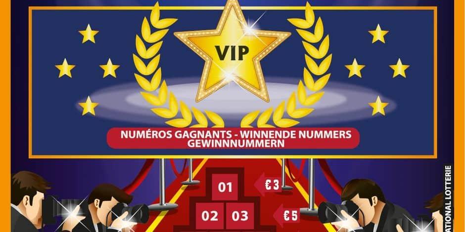 Bingo Hollywood, le nouveau jeu à gratter de la Loterie, débarque ce lundi: vous pouvez gagner jusqu'à 100.000 euros