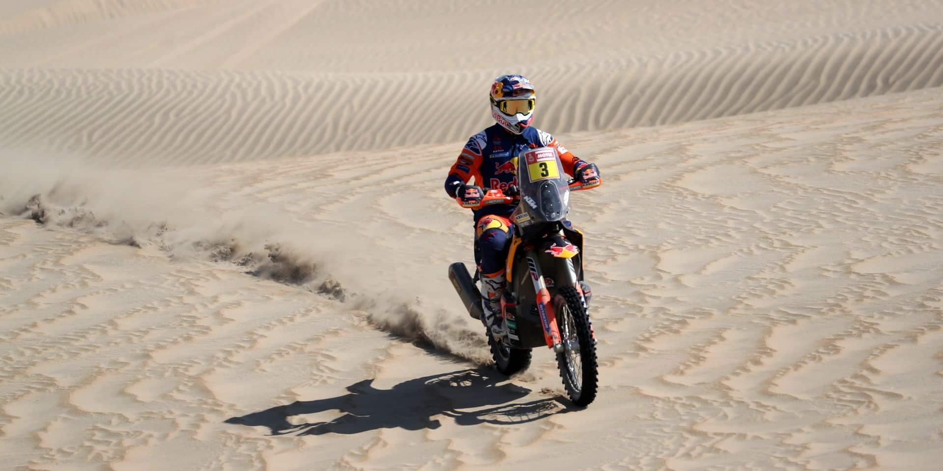 Dakar 2019: victoire finale de l'Australien Toby Price en motos