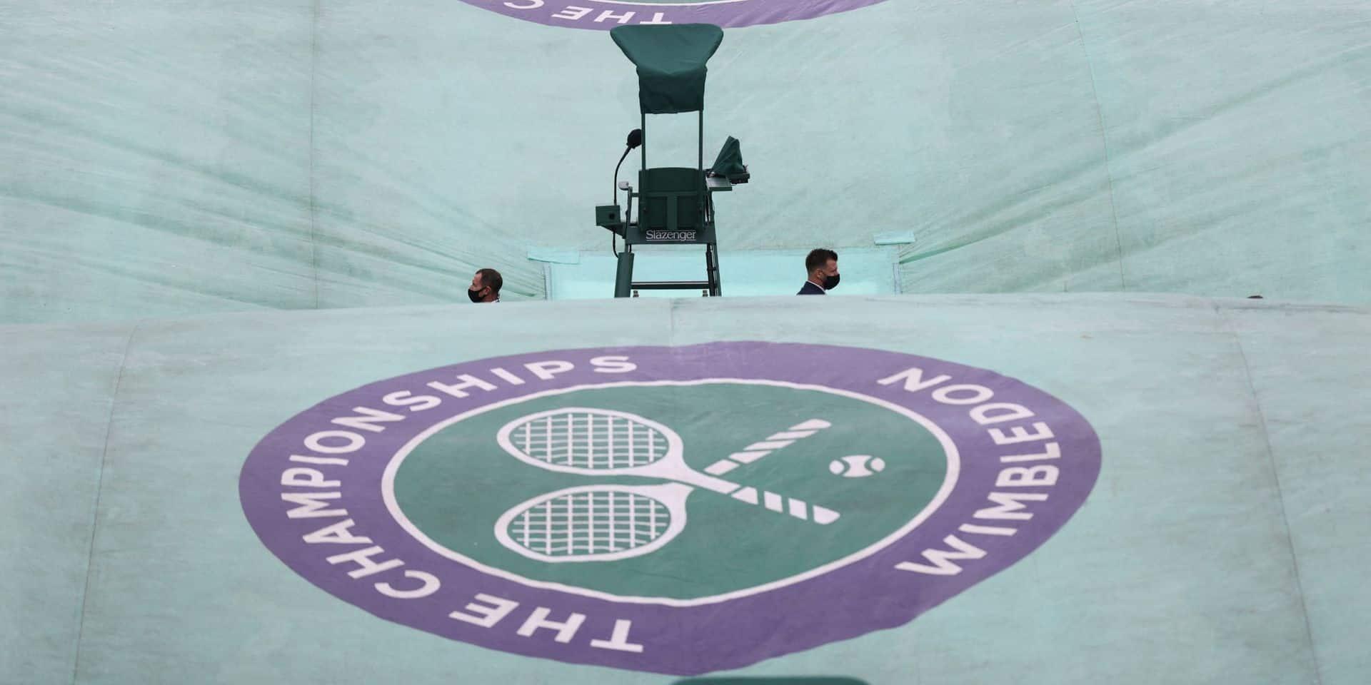 Wimbledon: le match de Mertens reporté à mardi