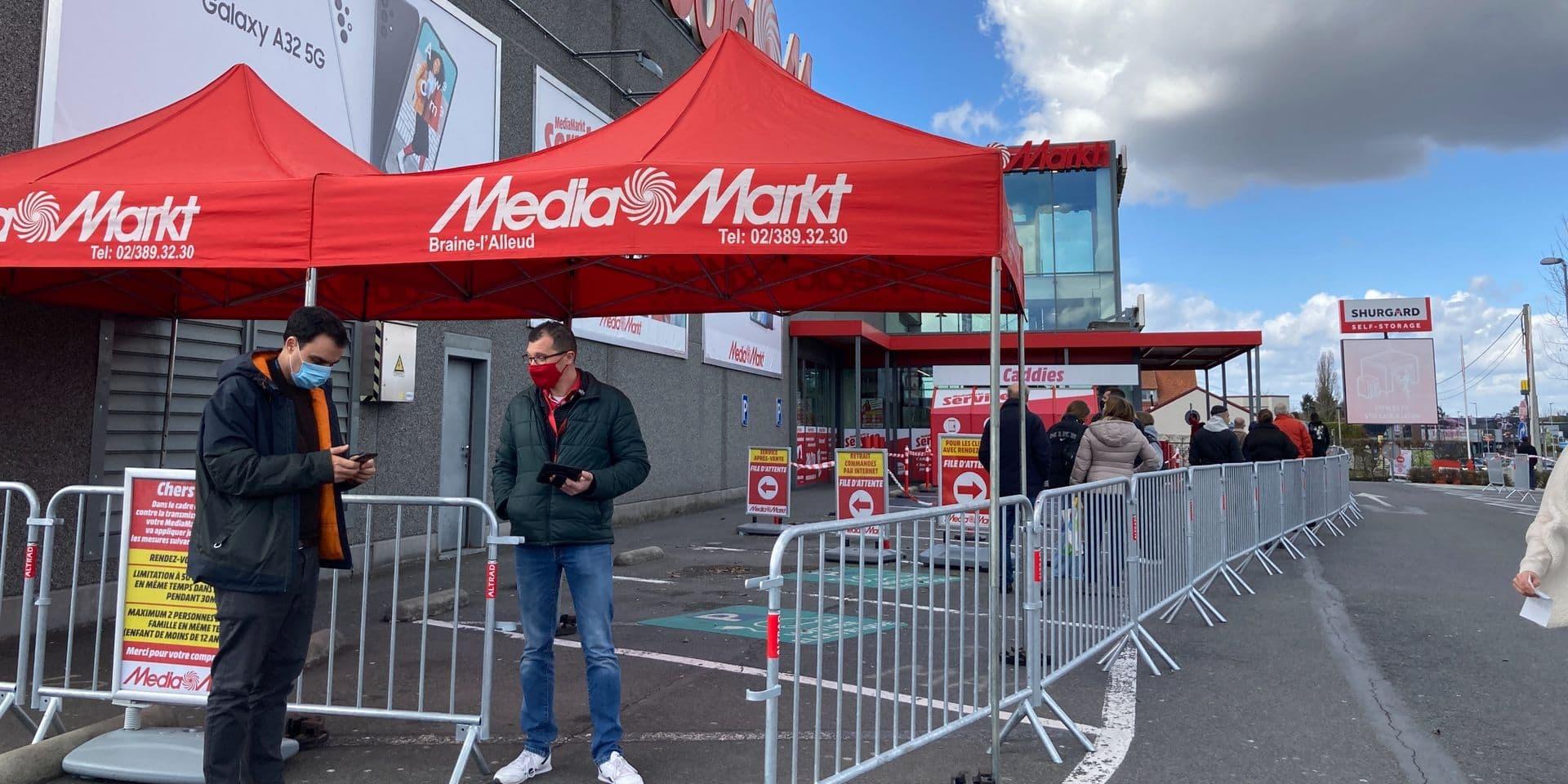 Le MediaMarkt de Braine-l'Alleud accueille ses clients sur rendez-vous