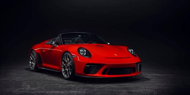 La 911 Speedster sera bien produite - La DH