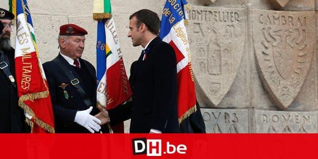Macron fait une promesse à un ancien combattant — Immigration clandestine