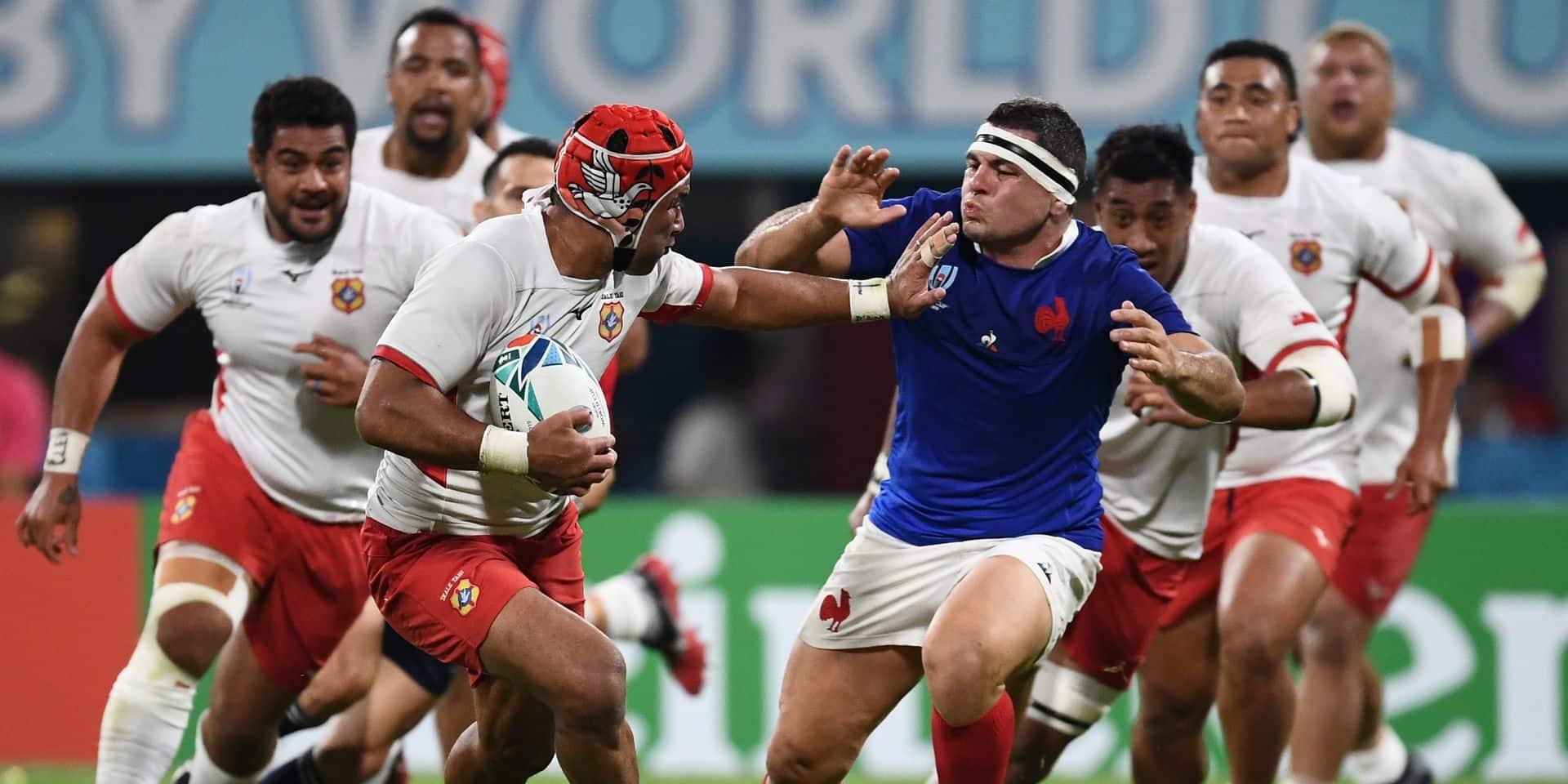 Vers une annulation des matches de la Coupe du monde de rugby ce week-end ?