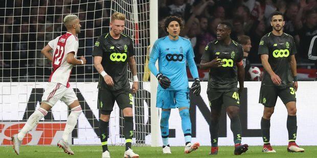 Le Standard s'incline à l'Ajax et disputera l'Europa League (3-0) - La DH