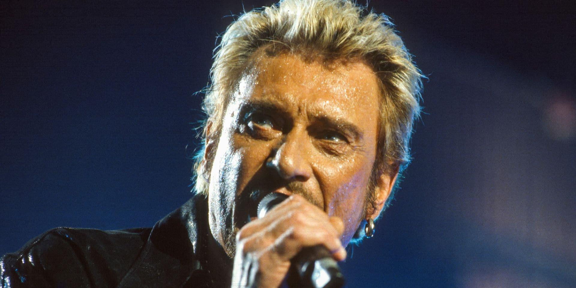 Johnny Hallyday de retour sur disque et sur scène