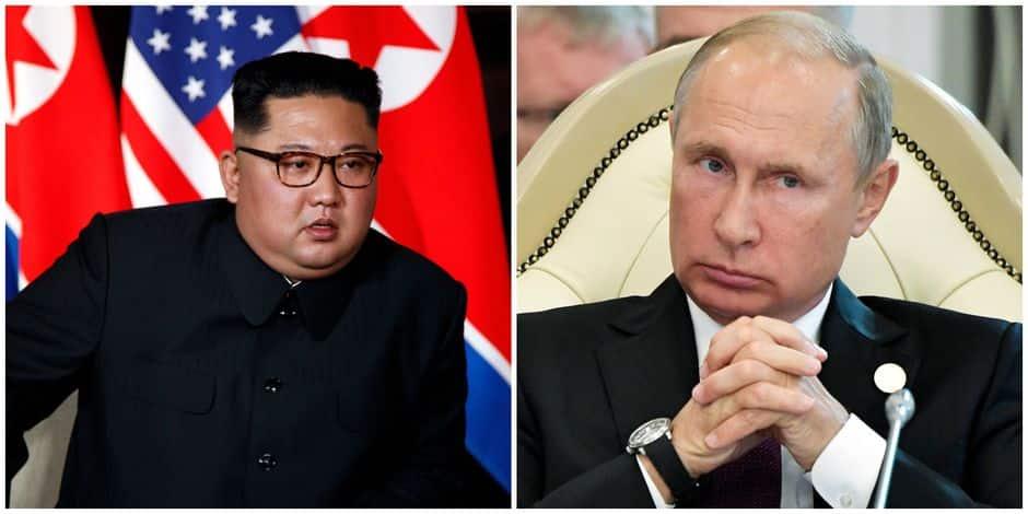 Vladimir Poutine prêt à rencontrer Kim Jong-un