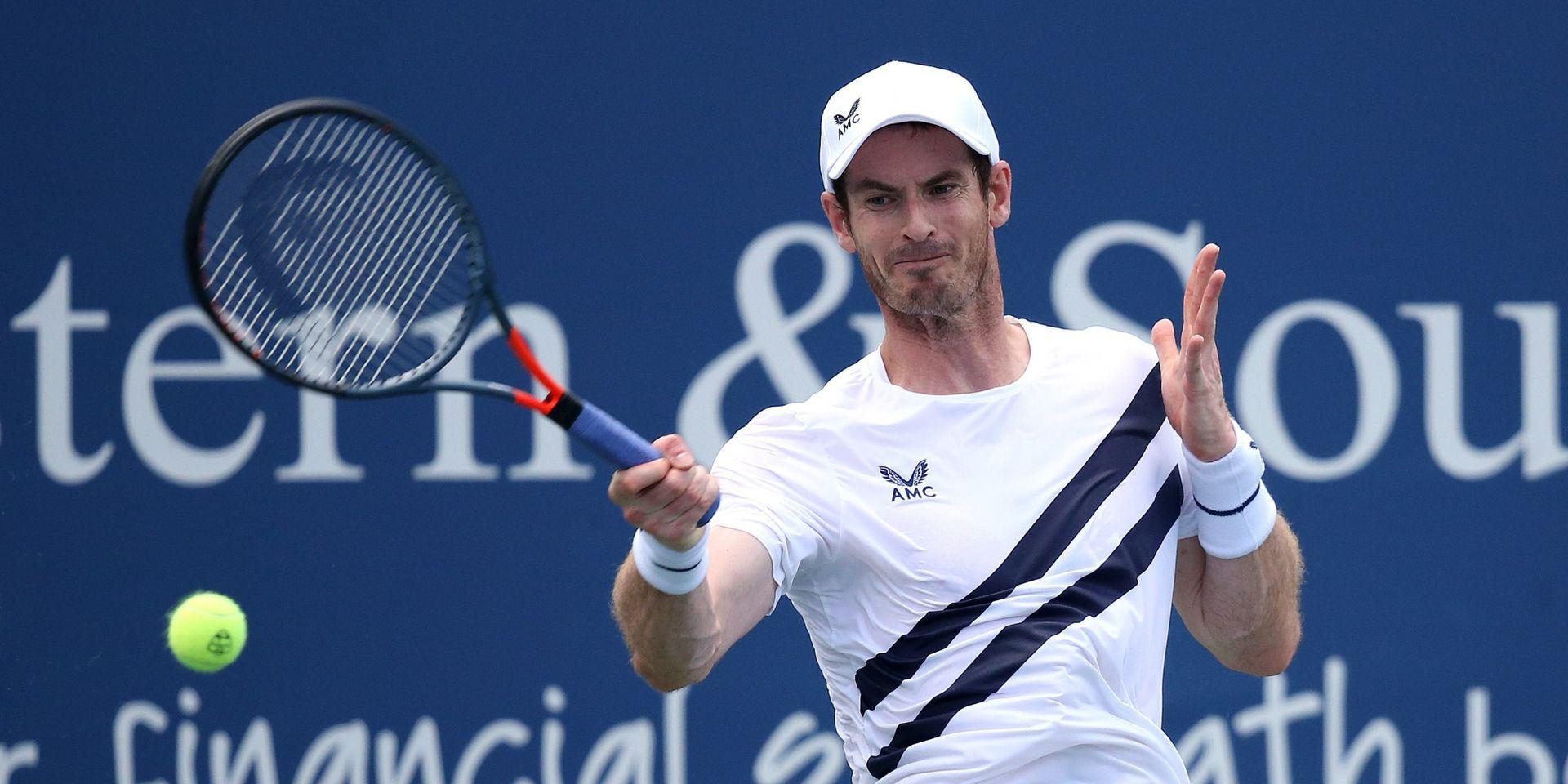 ATP Cincinnati: Andy Murray qualifié pour le 2e tour à Cincinnati