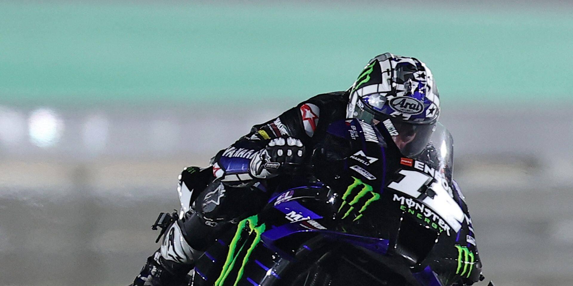 Maverick Viñales en patron pour le premier GP de la saison