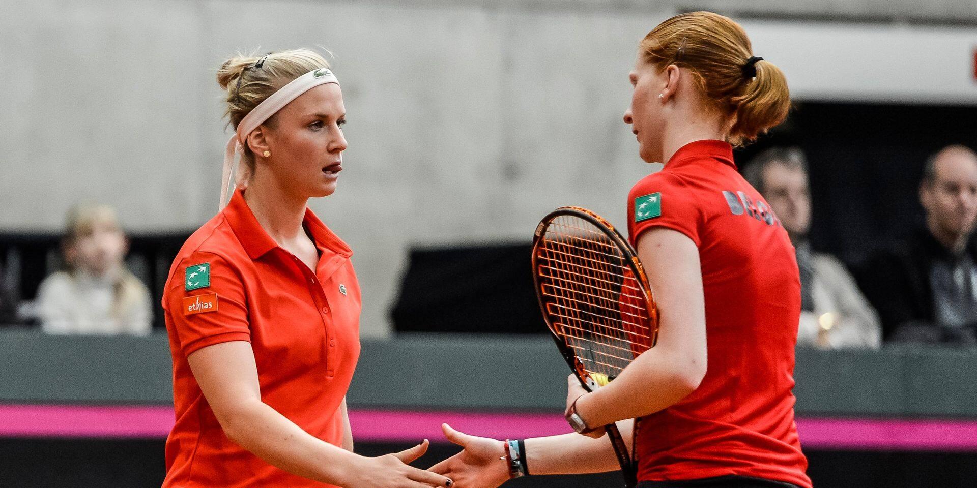 WTA Linz: Alison Van Uytvanck opposée à Ysaline Bonaventure au 1er tour