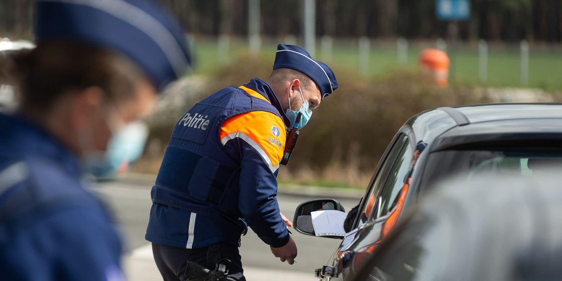 Bilan positif pour la vague de contrôles routiers organisée en Belgique