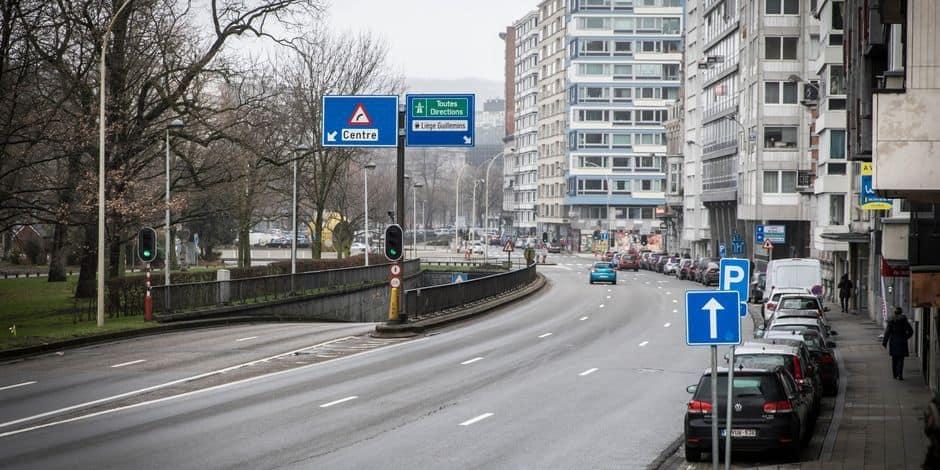 Une personne fait une chute mortelle d'un immeuble boulevard d'Avroy à Liège