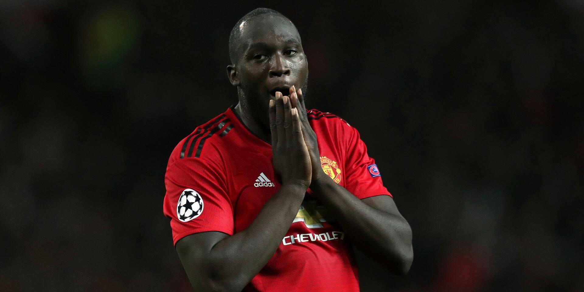 Romelu Lukaku va manquer deux matchs