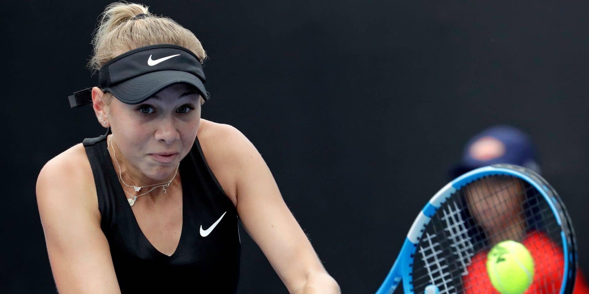 Open d'Australie: Anisimova, pour l'avenir du jeu