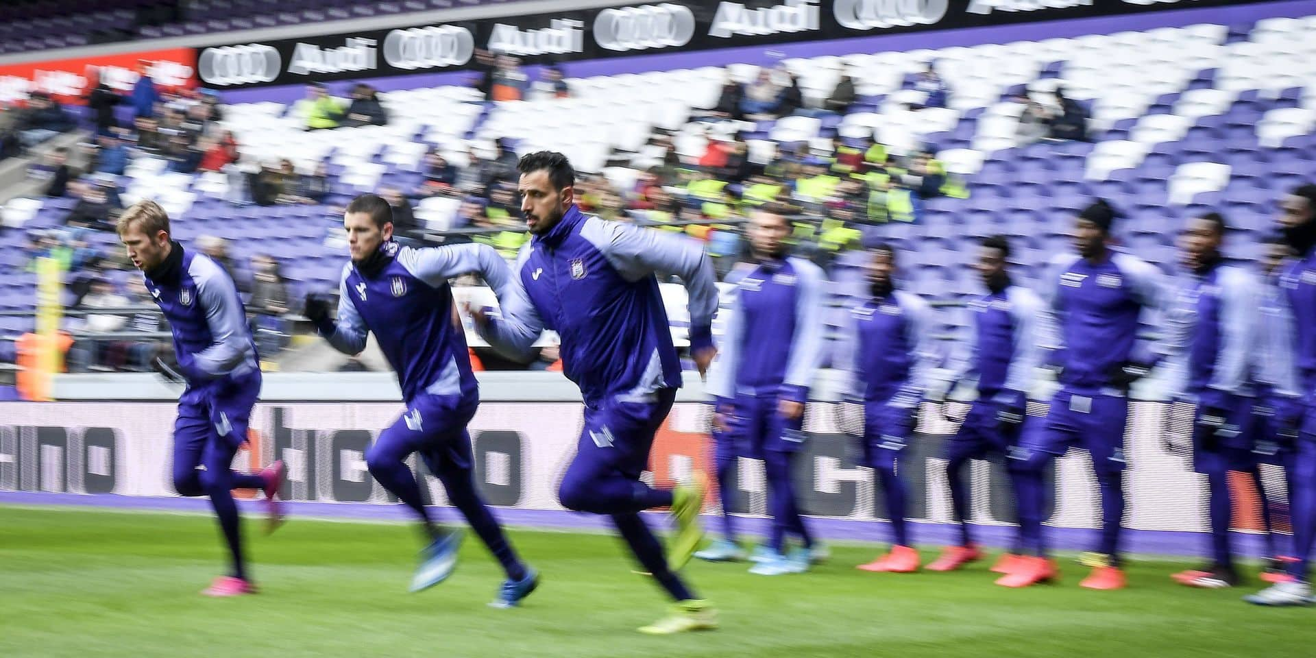 Rsc Anderlecht open Training 26-02-2020