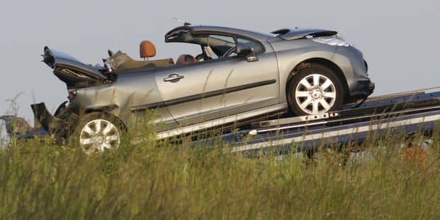 Anseroeul: Un mort suite à une collision sur la nationale 48 - La DH