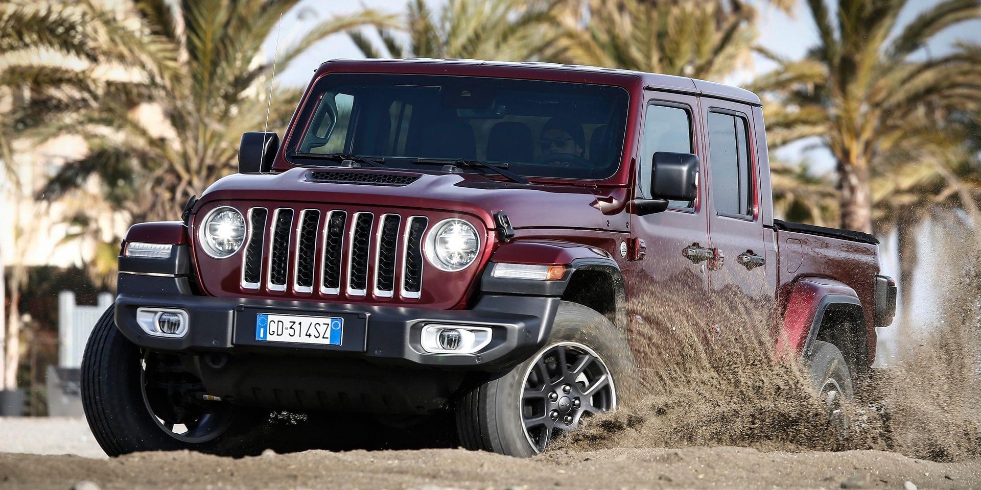 Essai auto Jeep Gladiator : La plage plutôt que l'ouvrage