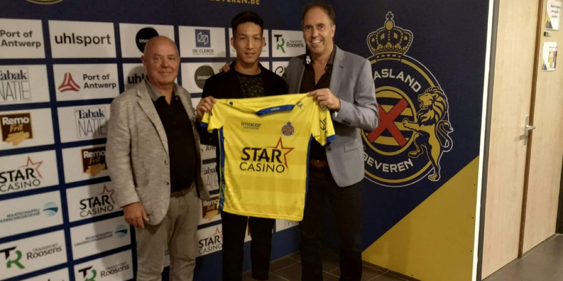 Waasland-Beveren attire l'international japonais Yuki Kobayashi