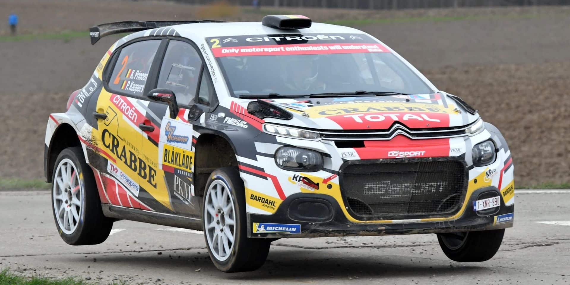 Les règles changent en championnat de Belgique des rallyes: 4 rallyes suffiront pour être couronné!