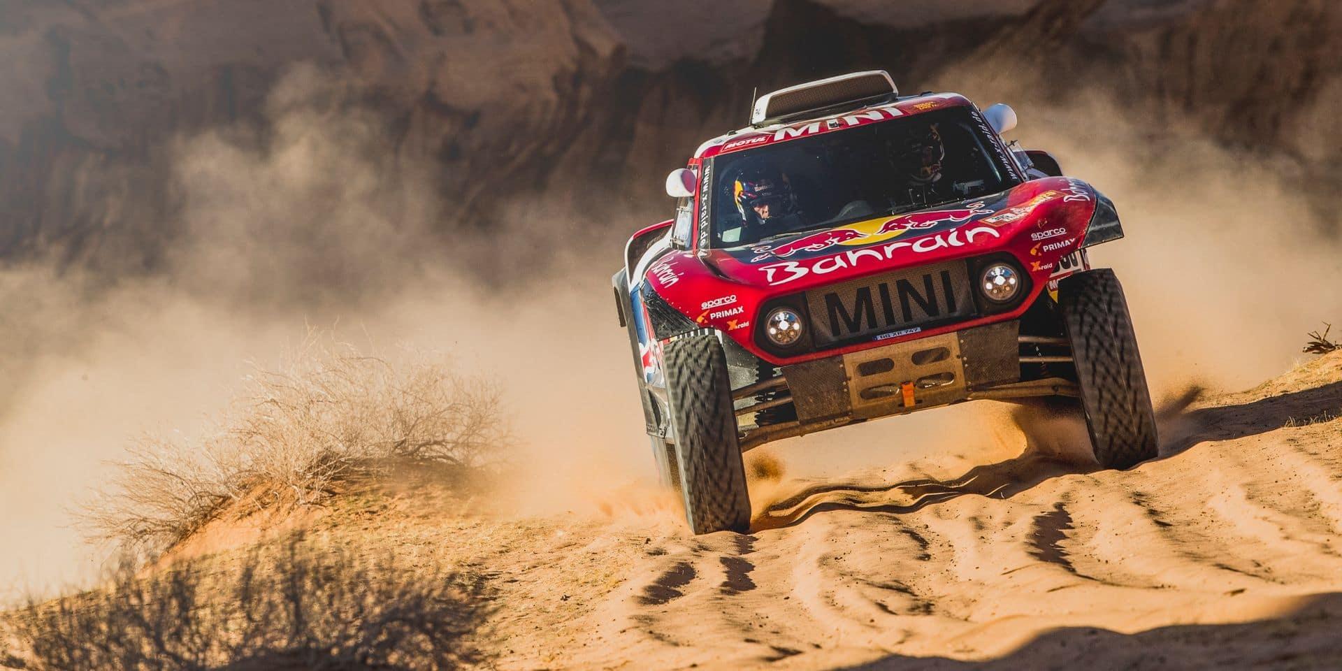 Dakar - Etape 5 (Autos) : Sainz se fâche et conforte son leadership