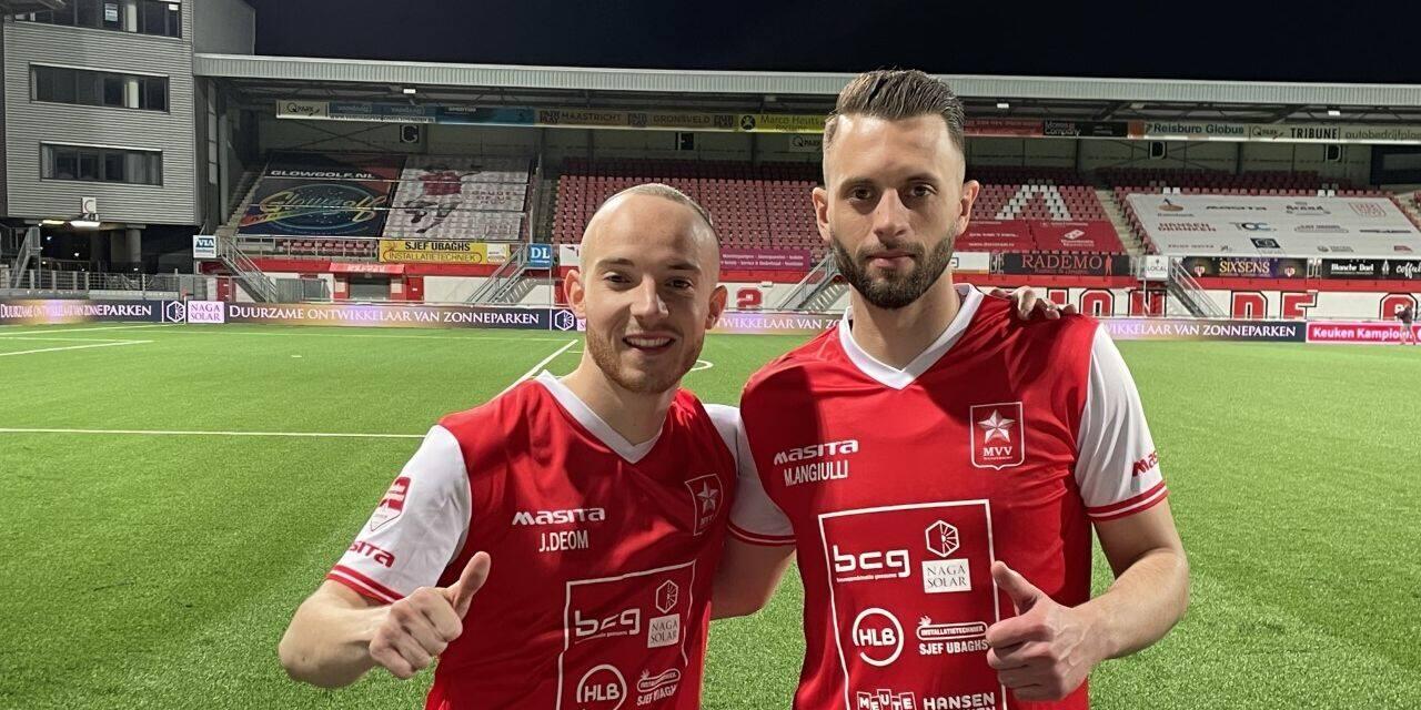 Un Jérôme Déom éblouissant mène Maastricht vers la victoire