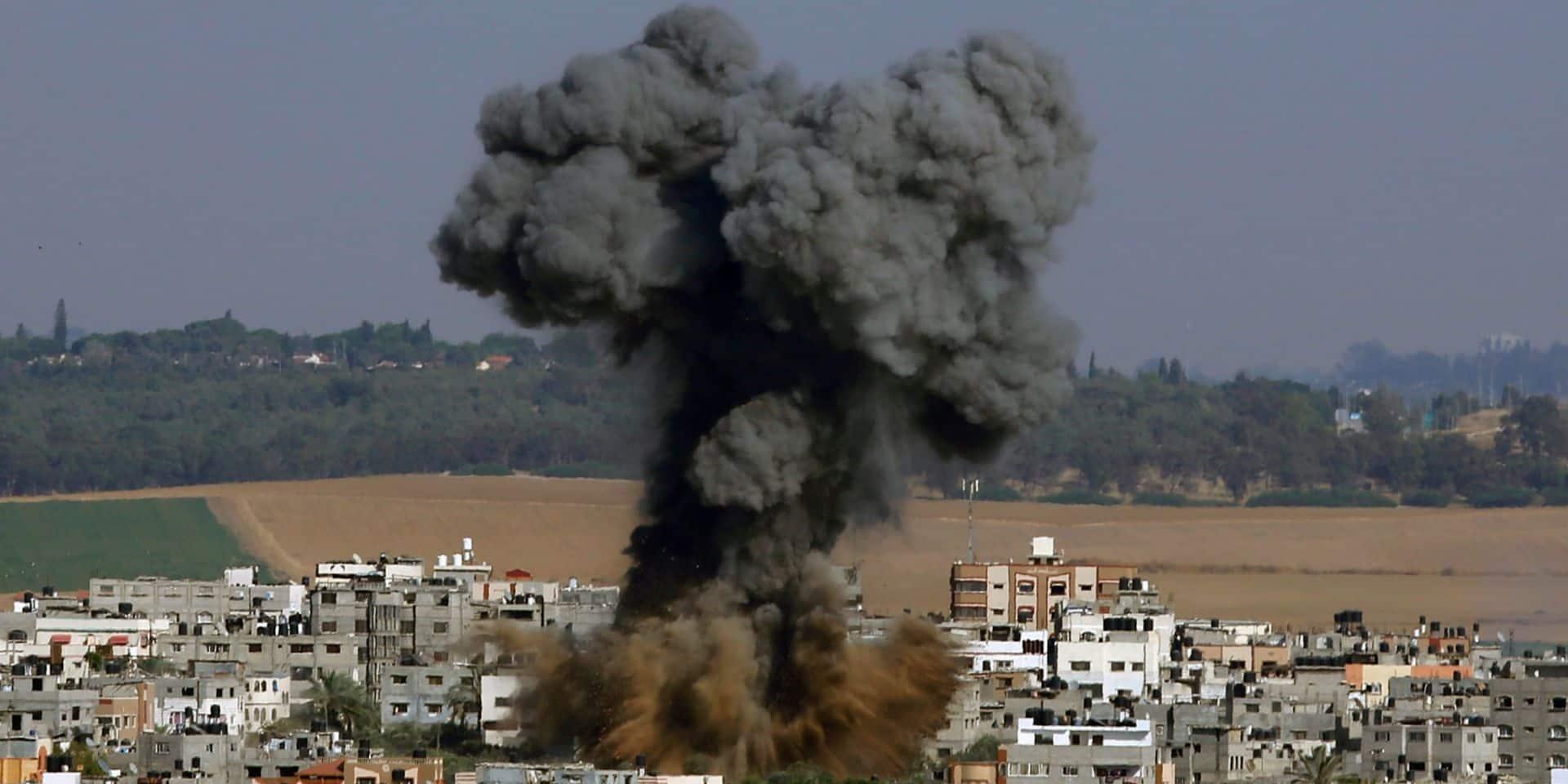 Gaza: les frappes continuent, la diplomatie s'active pour un cessez-le-feu