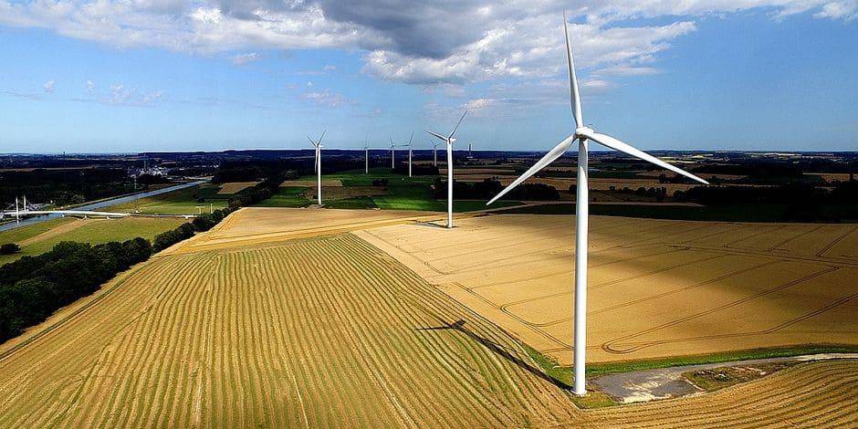 Ath : Un projet pour quatre éoliennes est sur la table
