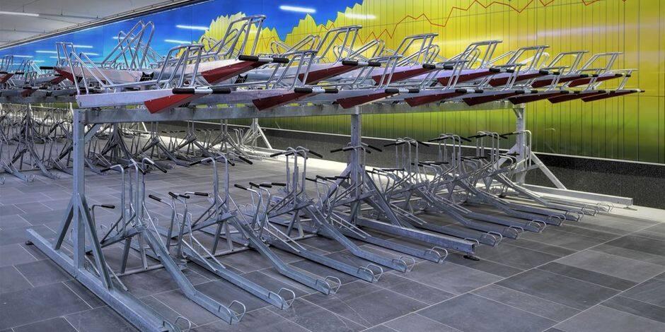 Victimes de vols et de vandalisme, les parkings vélos des stations Bourse et De Brouckère seront mieux sécurisés