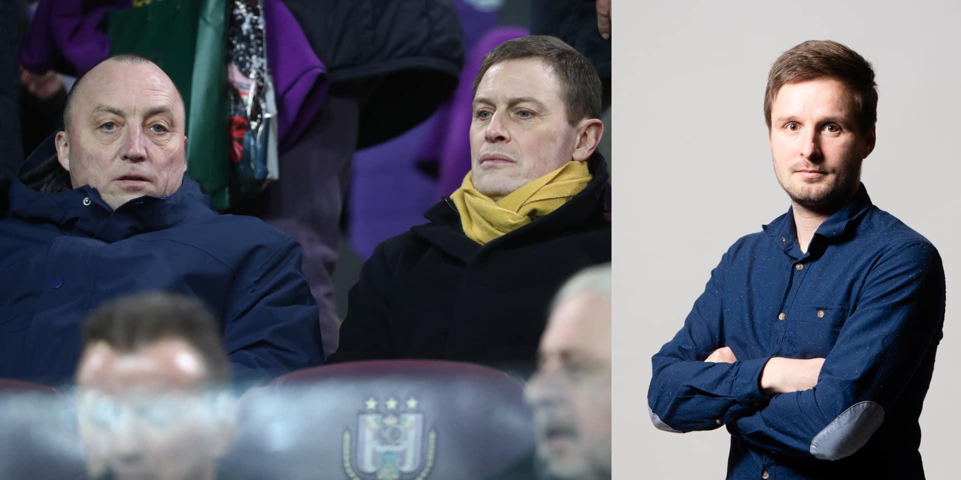 Wouter Vandenhaute, enfin un vrai supporter à la tête du Sporting d'Anderlecht