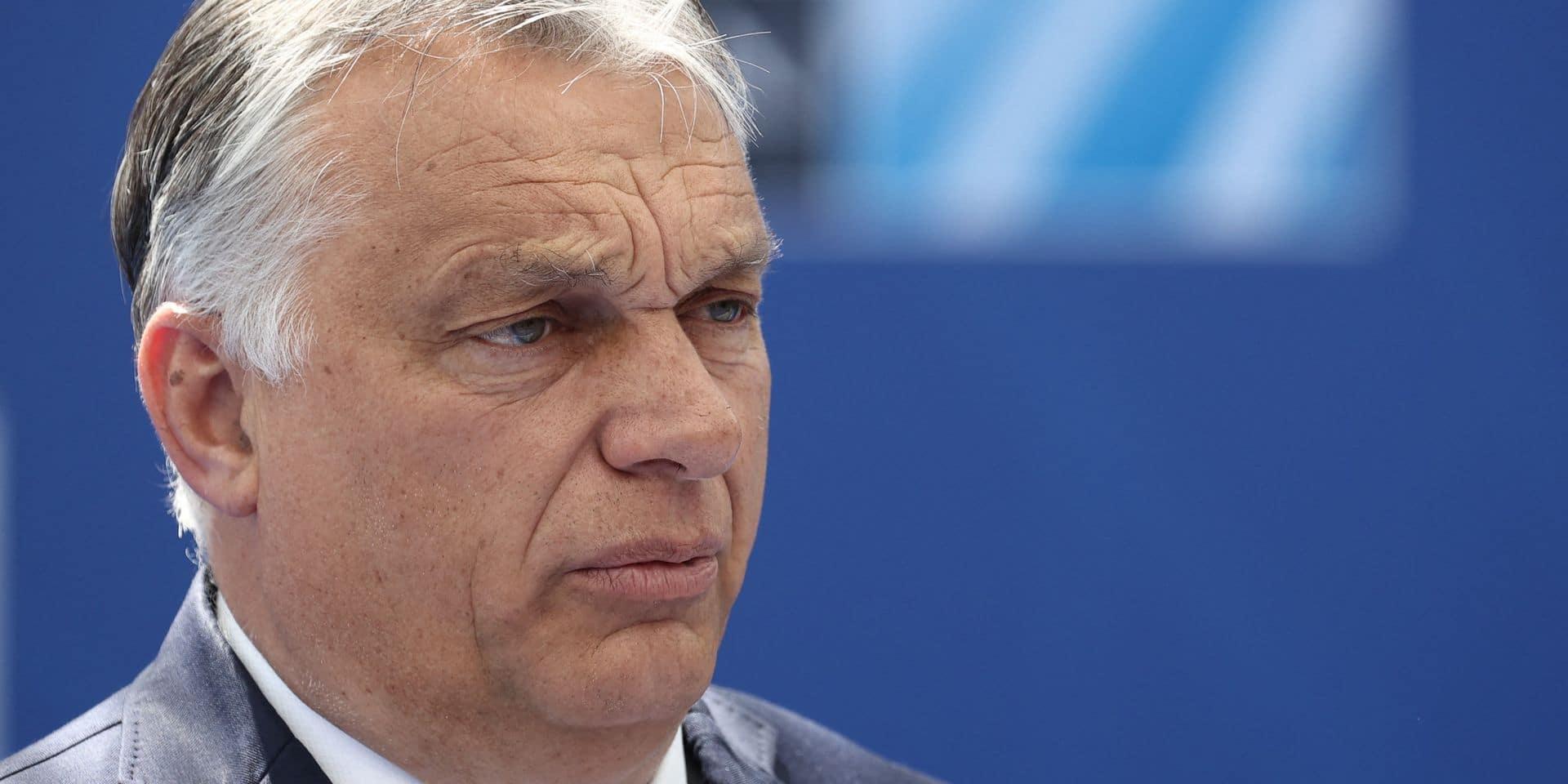 Le Premier ministre hongrois Orban veut limiter le pouvoir du Parlement européen