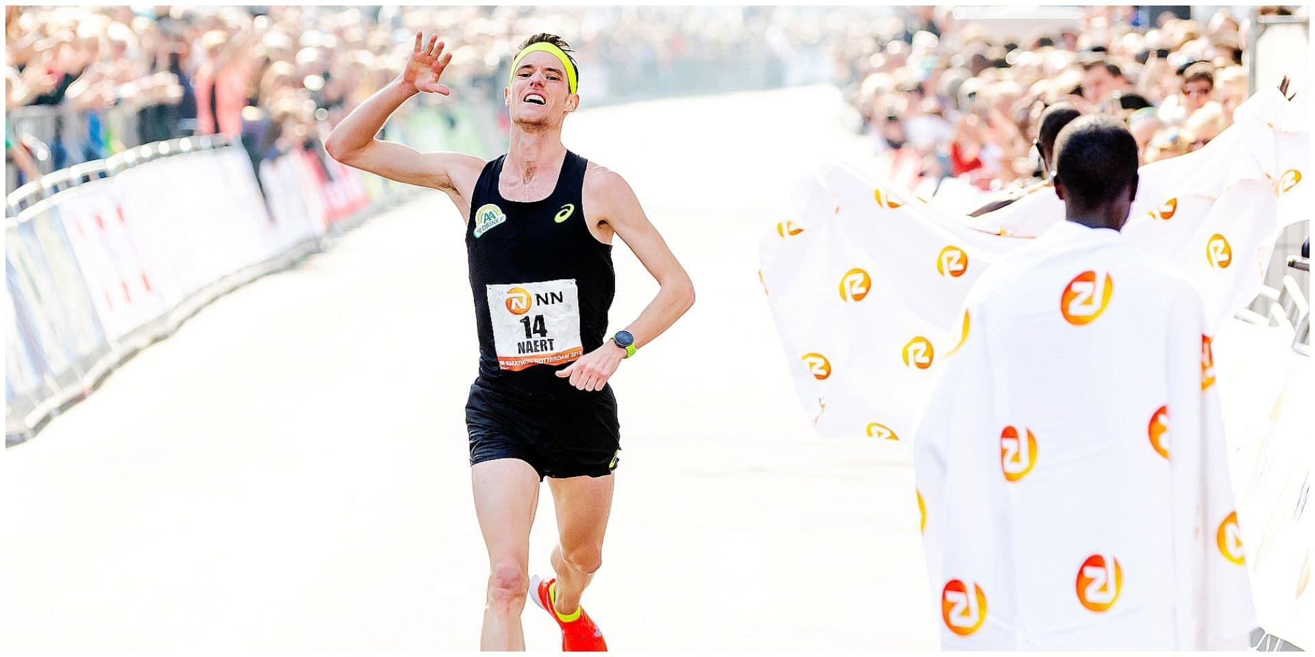 """Koen Naert a fait trembler le record national du marathon: """"J'ai osé y aller !"""""""