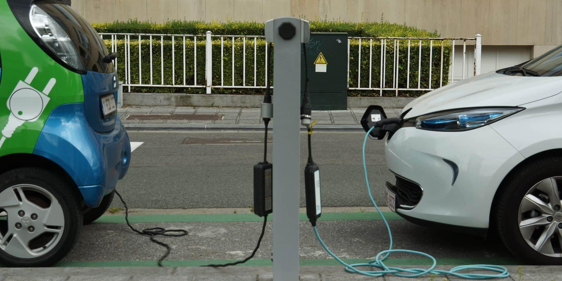 Seraing : des bornes de rechargement accessibles gratuitement pour les citoyens
