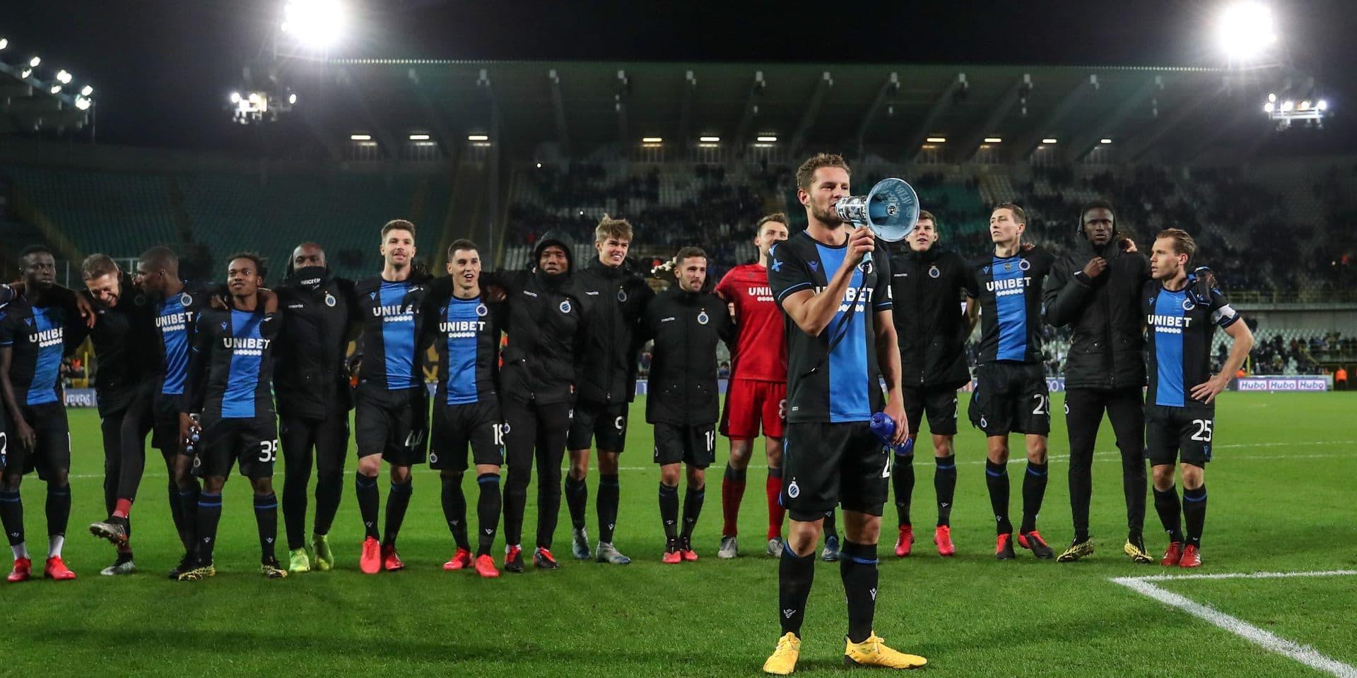 Le Club Bruges chambre Manchester United sur Twitter !