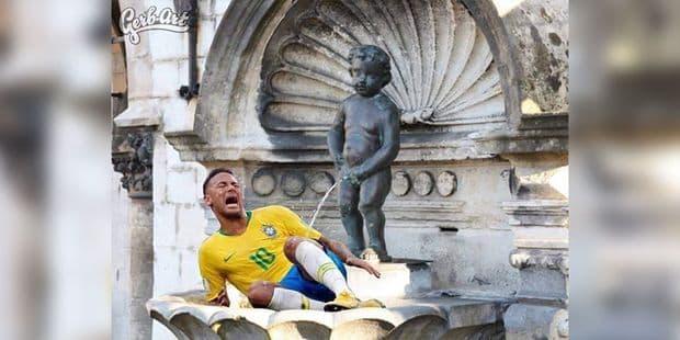 Neymar moqué par de nombreux internautes - La DH