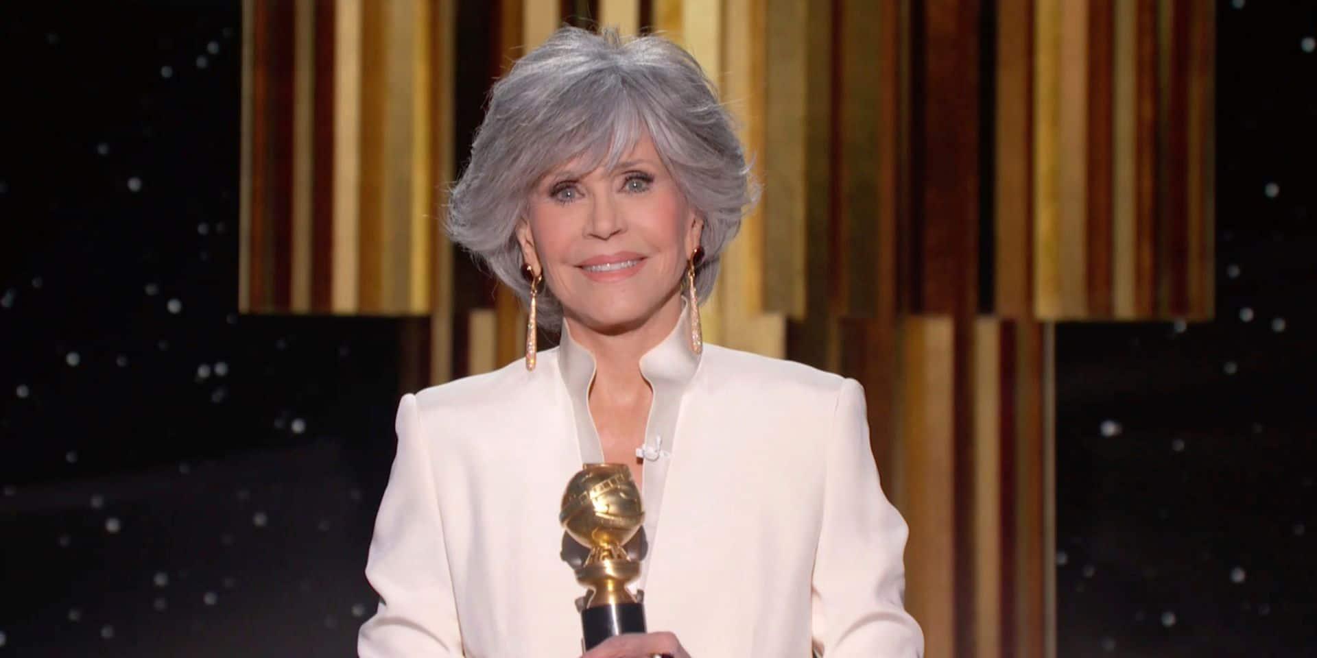 """Le combat de Jane Fonda pour la planète: """"Si Greta en est capable, moi aussi"""""""